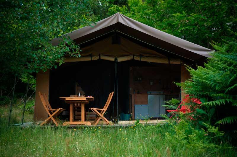 Bivouac nature tente Safari écolodge