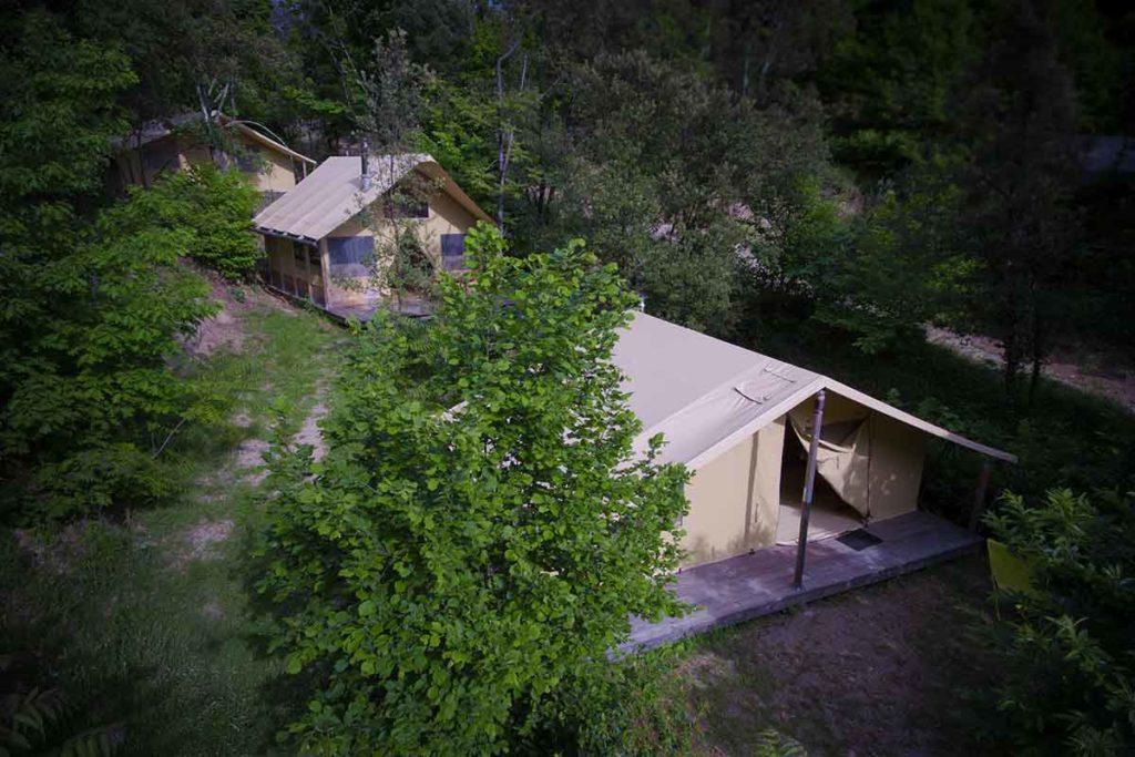 comité entreprise offre bivouac nature cevennes camping nature insolite écologique cévennes gard languedoc france sud