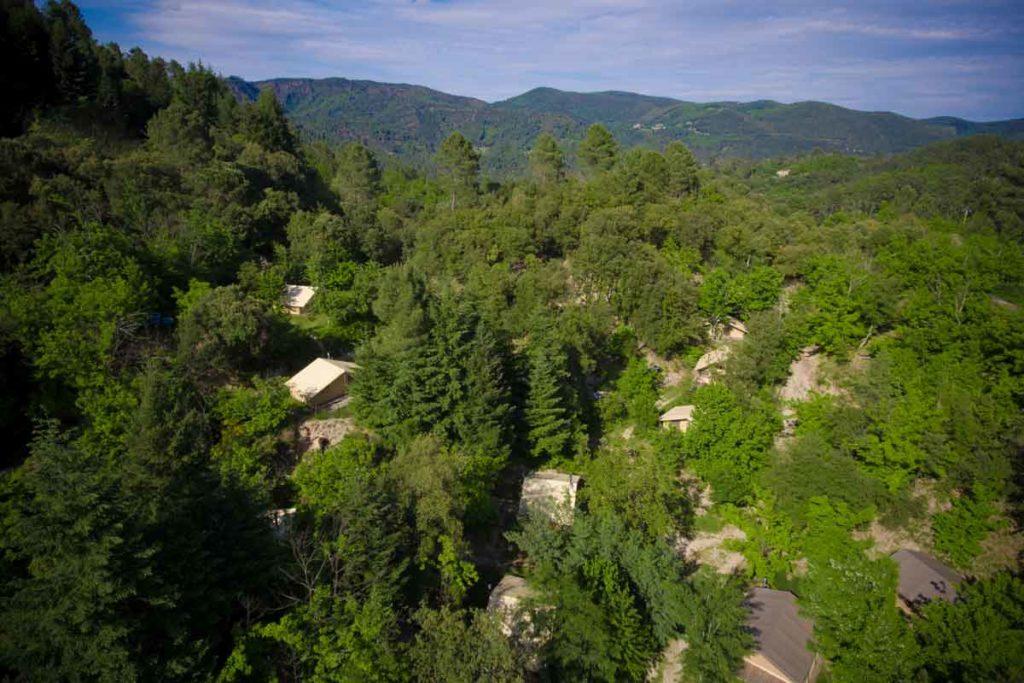 vacances famille camping nature ecologique ecocamping ecotourisme camping nature naturel cevennes sud france occitanie gard lozere