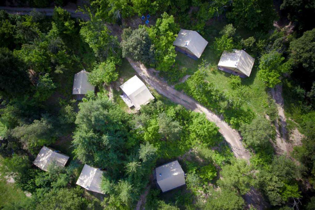 camping écolo écologique éco-camping nature cevennes sud france occitanie gard lozere