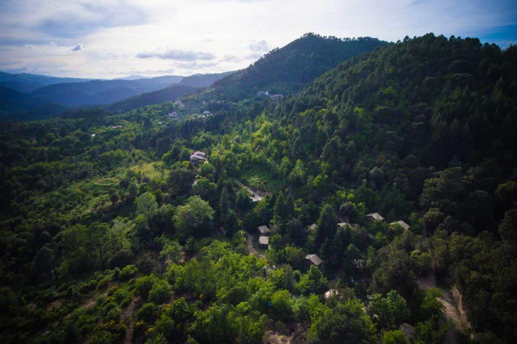 camping nature cevennes sud france occitanie gard lozere