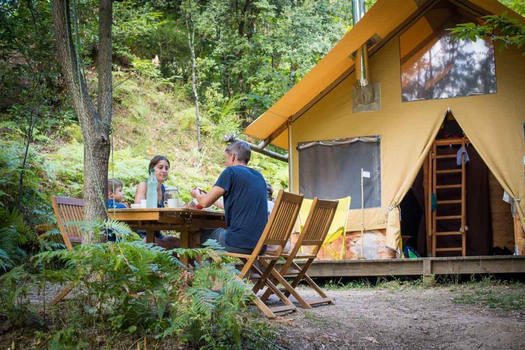 camping insolite nature cevennes france sud gard occitanie languedoc lozere