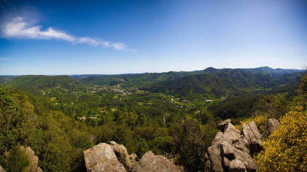 cevennes paysage tourisme visitebivouac nature camping activités