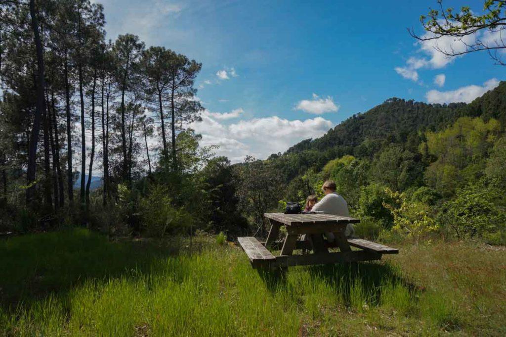 emplacement camping bivouac nature cevennes gard sud france